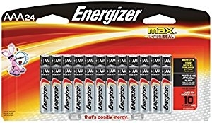 Energizer Max AAA Batteries 24PK