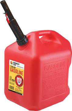 Midwest Can 5 Gallon Gasoline Can 5600