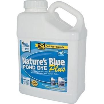 Pond Logic 1 Gallon Nature's Blue Plus Pond Dye