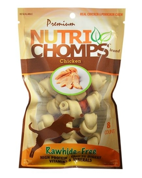 Nutri Chomps Mini Chicken Wrapped Knot 8 Ct.