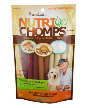 Nutri Chomps Assorted Mini Twist 15 Ct.