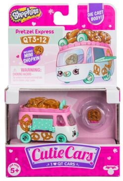 License 2 Play Toys Cutie Cars Shopkins Assorted