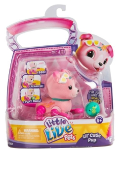 License 2 Play Toys Little Live Pets Cutie Pups Single Pack Assortment