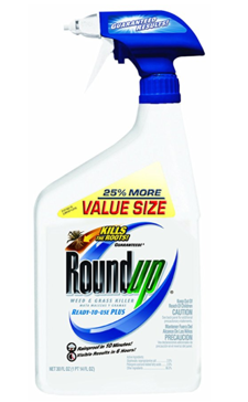Roundup  Weed and Grass Killer Ready-to-Use Trigger Spray, 30-Ounce