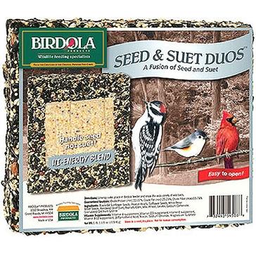 Birdola 1.7lb Duo Cake High Energy 54508