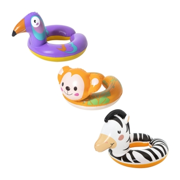 Bestway H2O Go Safari Animal Swim Ring 36112E Asst