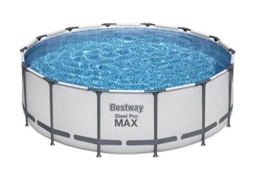"""Bestway 14'x48"""" Power Steel Swimming Pool"""