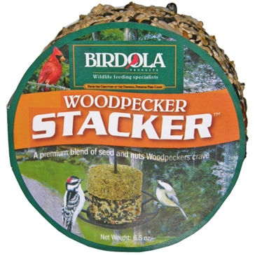 Birdola 6.5oz Woodpecker Stacker 54611