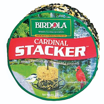 Birdola 4.8oz Cardinal Stacker 54612
