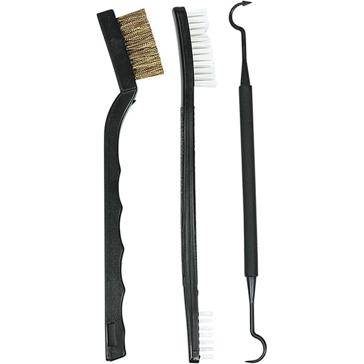Allen Gun Cleaning Brushes 3-Pieces