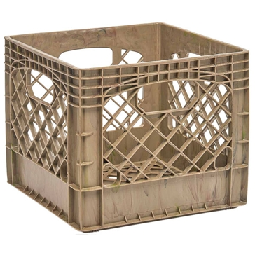 Heavy Duty Storage Crate Tan Camo