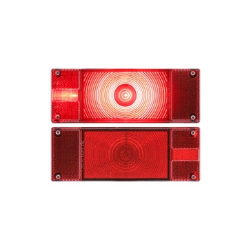 Optronics ONE LED Low Profile Marine Tail Lights TLL0016RK