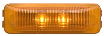 Optronics AL90 Mini Thinline LED Yellow Marker Light AL90AK