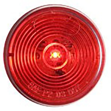 "Optronics 2"" Round LED Marker Red Light MCL56RK"