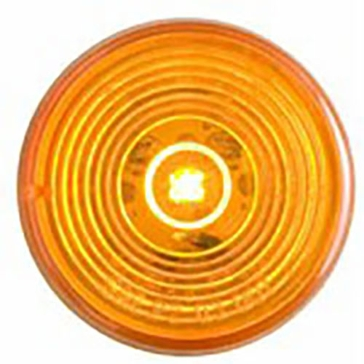 "Optronics 2"" Round LED Marker Yellow Light MCL56AK"