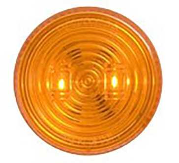 "Optronics 2.5"" Round LED Marker Yellow Light MCL527AK"