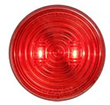 "Optronics 2.5"" Round LED Marker Red Light MCL527RK"