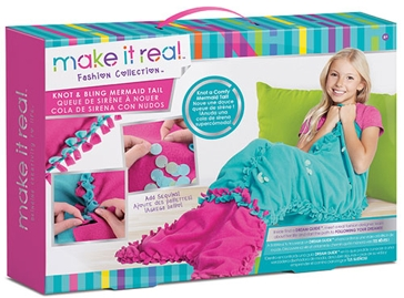 Make It Real Knot & Bling Mermaid Tail Craft Kit 1503