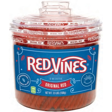 Red Vines American Licorice 3.5 lb.