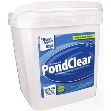 Pond Logic 12 Packet Pail All Natural Pond Clear 570098