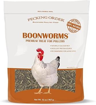 Happy Hen Mealworm Frenzy Chicken Treats 30oz