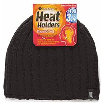 Heat Holders Mens Thermal Hat - Black