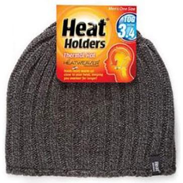 Heat Holders Mens Thermal Hat - Grey