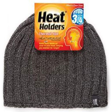 Heat Holders Mens Thermal Hat - Grey