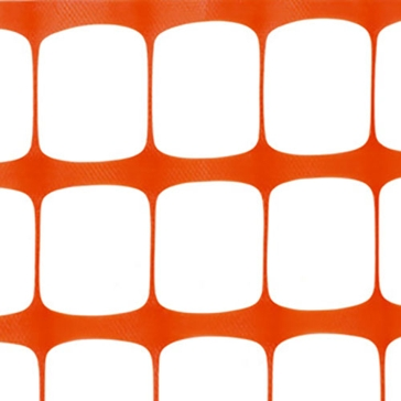 Tenax Orange Guardian Visual Barrier Fence 4'x50'