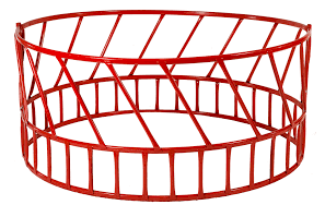 Applegate 2-Piece 8ft Round Hay Feeder HF-14R10208