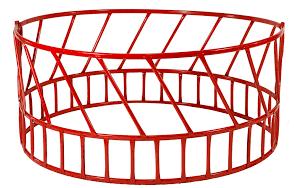 Applegate 2-Piece 8ft Round Hay Feeder HF-14R10208