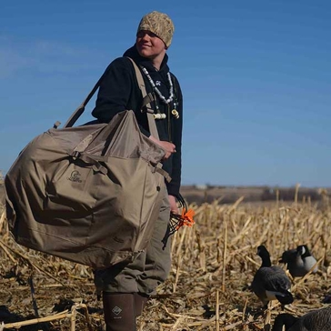 Purchase only includes the bag shown, not decoys or other items