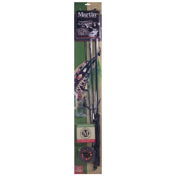 Zebco Martin Complete Rod Combo Kit w/Fly Assortment