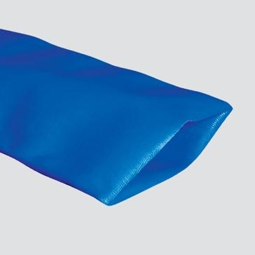"Apache 1-1/2"" Blue Standard-Duty PVC Layflat Discharge Hose"