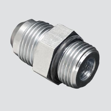 """Apache Style 6400 1/2"""" Male JIC x 5/8"""" Male O-ring Boss Hydraulic Adapter"""