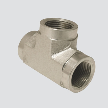 "Apache Style 5605 1/4"" Female Pipe Thread Hydraulic Tee Adapter"