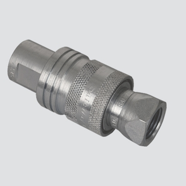 "Apache 1/2"" Female Pipe Thread x 1/2"" Body Two-Way Sleeve Hydraulic Quick Disconnect (S40-4)"