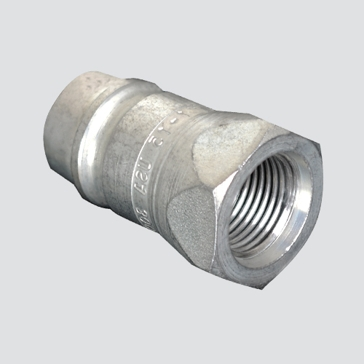 """Apache 1/2"""" ISO Male Tip x 1/2"""" Female Pipe Thread Hydraulic Quick Disconnect (S71-4P)"""