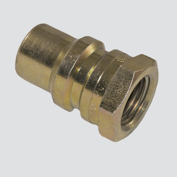 "Apache Case Old Style Male Tip x 1/2"" Female Pipe Thread Hydraulic Quick Disconnect (S13-4)"