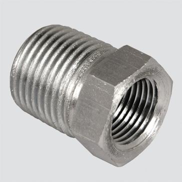 """Apache Style 5406 1"""" Male Pipe Thread x 3/4"""" Female Pipe Thread Hydraulic Reducer Bushing"""