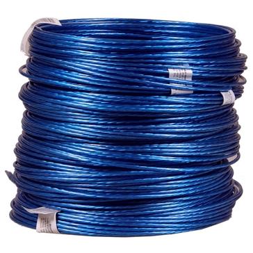 Hillman Galvanized Blue Plastic Coated Clothesline 50FT