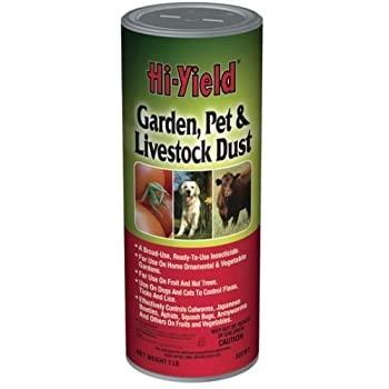 Hi-Yield Garden, Pet, and Livestock Dust- 1 Lbs. Shaker