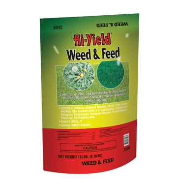 Hi-Yield Weed & Feed 15-0-10 18lb