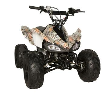 Predator Camo Youth 125cc ATV
