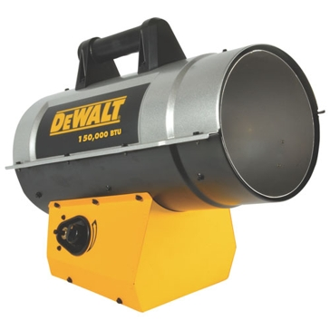 Dewalt 150,000 BTU Forced Air Propane Heater