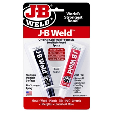 JB Weld Compound Twin Tubes 2oz