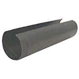 "Gray Metal 24ga 6"" x 24"" Black Stove Pipe"