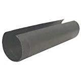 """Gray Metal 24ga 6"""" x 24"""" Black Stove Pipe"""