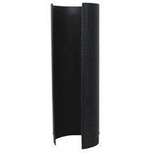 "Gray Metal 24ga Black 8""x24"" Stovepipe 8-24-600"