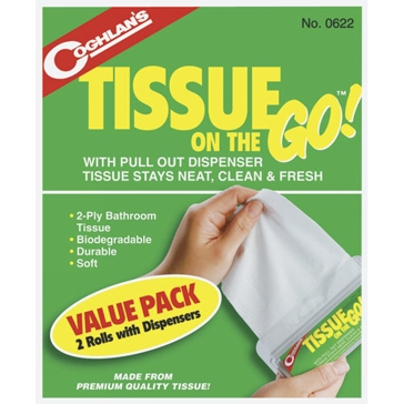 Coghlans Tissue on the Go 0622